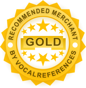 Gold Merchant Recommended Badge from VocalReferences