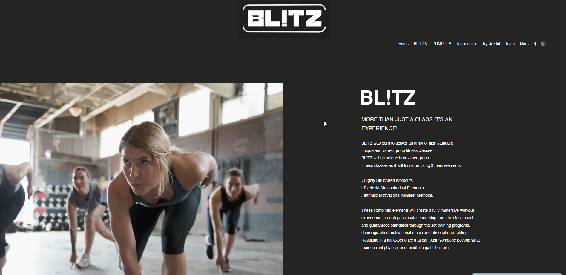 Blitz Home Page